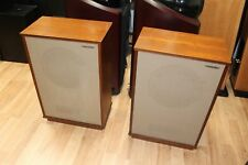 """Pair : Tannoy Lancaster with 12"""" Monitor Golds LSU/HF/12/8 w/ Crossovers -NICE!"""
