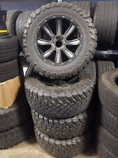 Used Toyo Open Country M/T 35/12.5R20LT Tires w/ 20x10 Wheels - Full Set