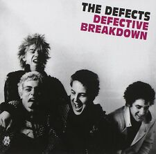 The Defects Defective Breakdown CD+Bonus Tracks NEW SEALED Punk Brutality/Dance+