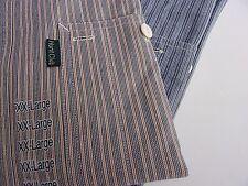 Vtg Sz XXL Shirts Long Sleeve Chest Pockets NEW 2 Hunt Club JCPenney Stripes