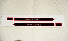 MARX MARLINES CANADIAN PACIFIC LOCO ENGINE SIDEBOARD DECAL 2 PER SET LOOK!