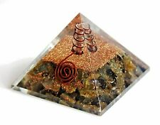 Crystal of Transformation - Labradorite Orgone Orgonite Pyramid Gift Wrapped