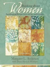 Thinking about Women-Sociological Perspectives on Sex and Gender-Text Book