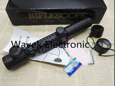 3-9X32EG Red Green Mil-Dot illuminated Optical Rifle Scope Tactical Hunting