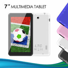 "LTC 7"" Inch A33 Android 5.1 Lollipop Tablet PC MID Quad Core Dual Camera WiFi"