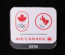 RIO 2016 OLYMPIC PARALYMPIC AIR CANADA NOC SPONSOR DATED PIN NEW