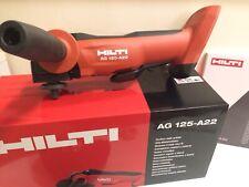 Hilti AG 125 A-22 Akku Winkelschleifer Flex Neu OVP Gerätekoffer*AG4