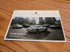 Porsche Full Model Range Brochure, Sports Car Fascination  - 60 Pages