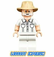 LEGO Minifigure - John Hammond - Jurassic Park World jw057 75936 FREEPOST