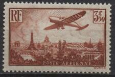"""France: Y et T PA No 13 neuf **. """"Avion survolant Paris""""."""