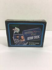 Star Trek Playing Cards in Tin Box by Enesco (Sealed)