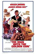 The Man with the Golden Gun Movie POSTER 27 x 40 Roger Moore, B, LICENSED NEW