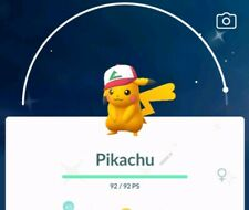 Pokemon go 💥💥shiny Ash Hat Pikachu💥💥!!