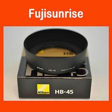 Original Nuevo Nikon HB-45 Parasol de bayoneta para objetivo AF-S DX 18-55mmG VR