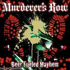MURDERER'S ROW - BEER FUELED MAYHEM LP weiß 300 Ex.