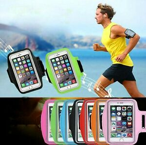 Gym Sports Running Phone Holder Armband For Samsung Galaxy Plus & Note sizes