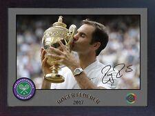 Roger Federer signed autographed Championships Wimbledon Tennis Memorabilia #002