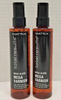 Matrix Total Results Mega Sleek Mega Varnish 3.1 oz **2-PACK** (177743-2)