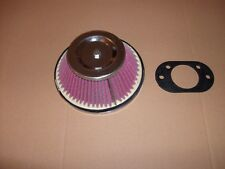 "Classic mini cone type air filter 1"" 3/4 carb HIF - New"