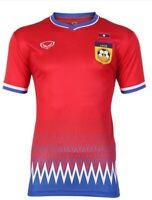 100% Authentic Original 2020 Laos National Football Soccer Team Jersey Shirt Red