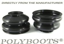 2x Polyboots Ball Joint Dust Boots 16x38x26mm Suspension Replacement Rubber Boot