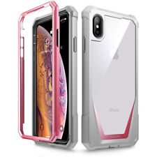 For iPhone Xs Max/XS/X Poetic Guardian w/ Built-in-Screen Protector Case 4 Color