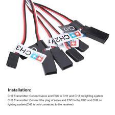 12 LED Lighting System Kit Flashing Lights for 1/10 1/8 RC Car / Truck / Crawler