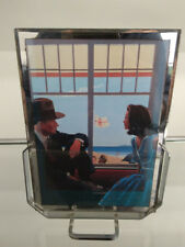 Art Deco French chrome picture frame