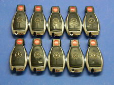 Lot of 10 Mercedes Benz CHROME Infra Red BLACK Key Keyless  Fob OEM KR55WK49031