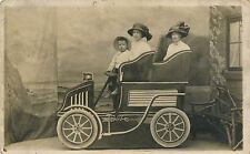 Postcard Toy vintage car w fidley studios 50 Shakespeare st Southport 17