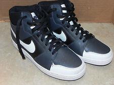 Nike Backboard II MID Basketball Skateboard Black Sneakers Men's Sz. 8 1/2