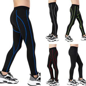 Children Fitness Pants Football Running Tights Elastic Quick Dry Sports Trousers