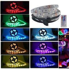 10M/2x5M 5050 LED RGB Streifen Leiste Strip licht + 44key Fernbedienung