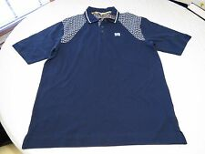 Men's Nike Polo shirt 55.00 M navy blue design logo L2 medium school work casual