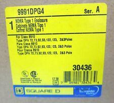 Square D 9991dpg4 Nema 1 Motor Starter Contactor Enclosure