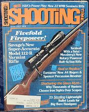 Magazine SHOOTING TIMES July 1979 !! HECKLER & KOCH Model HK300 .22 WMR RIFLE !!