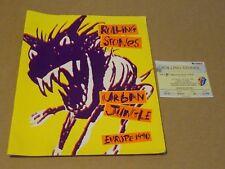 "Rolling Stones ""Urban Jungle"" 1990 European Programme + Ticket"
