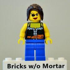 New Genuine LEGO Pirate Female Minifig Pirates 6253 6299