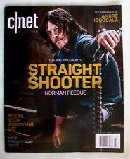 CNET magazine FALL 2017 Norman Reedus THE WALKING DEAD CNET