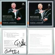 Mariss JANSONS Signiert BEETHOVEN Symphony 1 2 3 4 5 6 7 8 9 KANCHELI Dixi 6CD