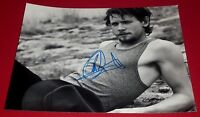 JACK O'CONNELL SIGNED RUGGED HOT STUD IN TANK 8X10 PHOTO COA UNBROKEN 300