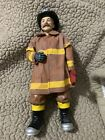 Firefighter In Turnout Gear Figurine Pre-owned