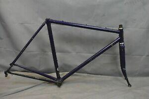 1985 Trek 560 Touring Road Bike Frame Set 54cm Small Reynolds 501 Steel Charity!