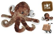 Soft Sea Octopus Plush 8 Inch Cuddly Stuffed Animal All Age Kids Toddler Toy