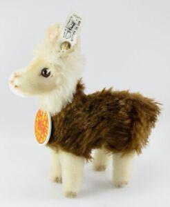 Arche Steiff Limited Edition Llama 706 of 8000 with Ear Button, Original Tag