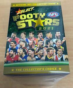 2021 Select Footy Stars FULL BASE Set Inc. AFLW (223 Cards)
