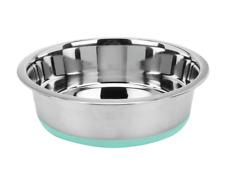 2XL Non Slip Stainless Steel Dog Bowl Food Water Dish Puppy Pet Feeder XXLarge