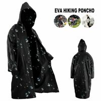 Waterproof Rain Coat Poncho Army Rain Jacket Rain Cover Rain Protection Bike NEW
