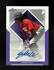 2016 Leaf Perfect Game NIKE JO ADELL Purple Proof Rookie Auto True 1/1 Angels 🔥