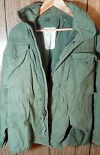 Vietnam Cold Weather Field Jacket OG-107 M-65 size small short Mfg So- sew Sty